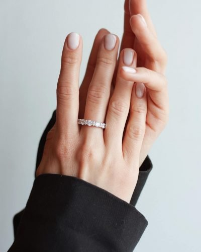 Beautiful hands with ring
