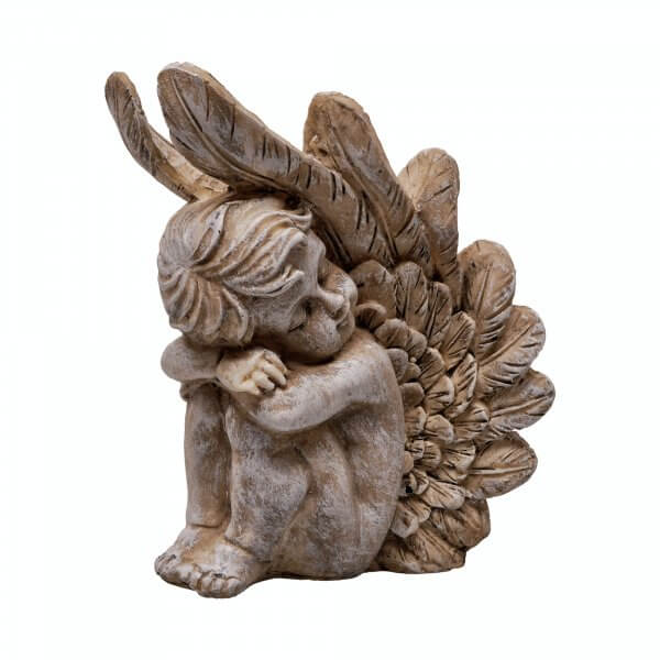 Christmas Angel figurine decoration on a white background